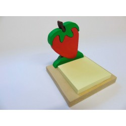 Porta post-it - fragola