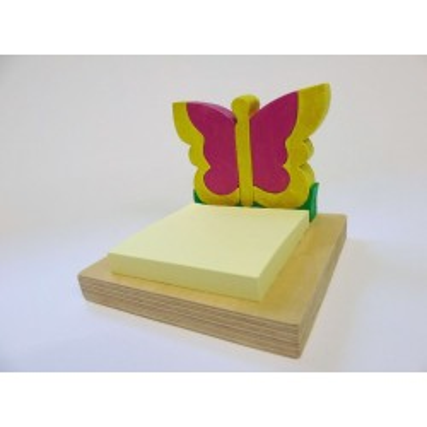 Porta post-it - farfalla