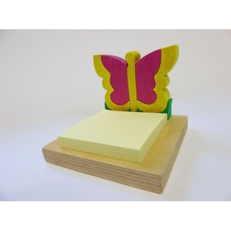 Porta post-it - farfalla