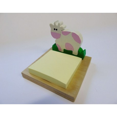 Porta post-it - mucca
